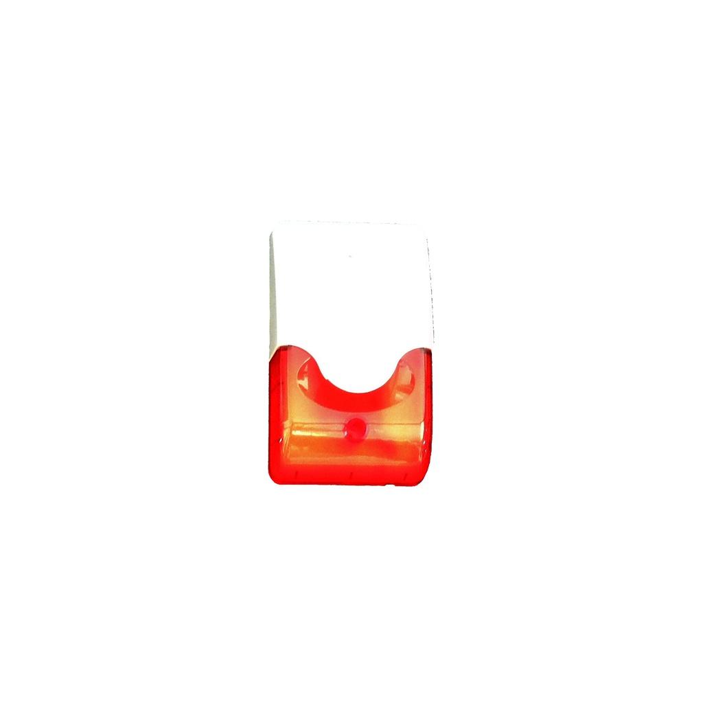 Paradox ES-36LR Interná piezosiréna s červeným blikačom