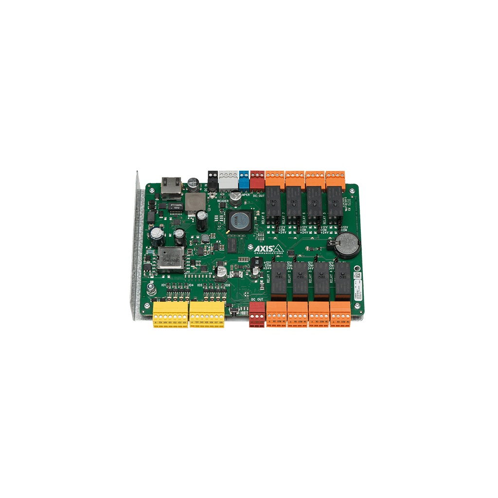 AXIS A9188 Network I/O Relay Module  (8 relé, lze propojit až 8 modulů)