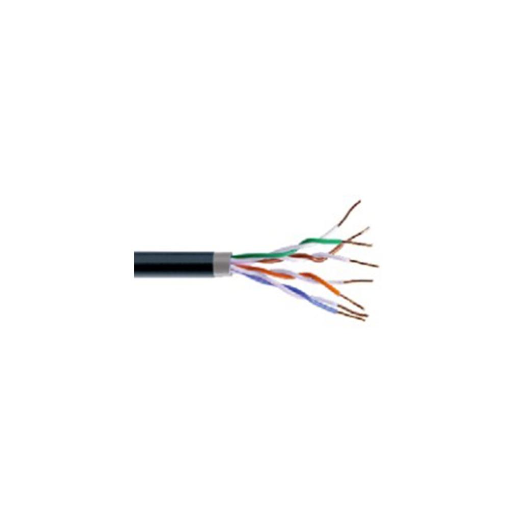 Kábel Dátový Cat.5e F/UTP PVC+PE OUT(metráž)