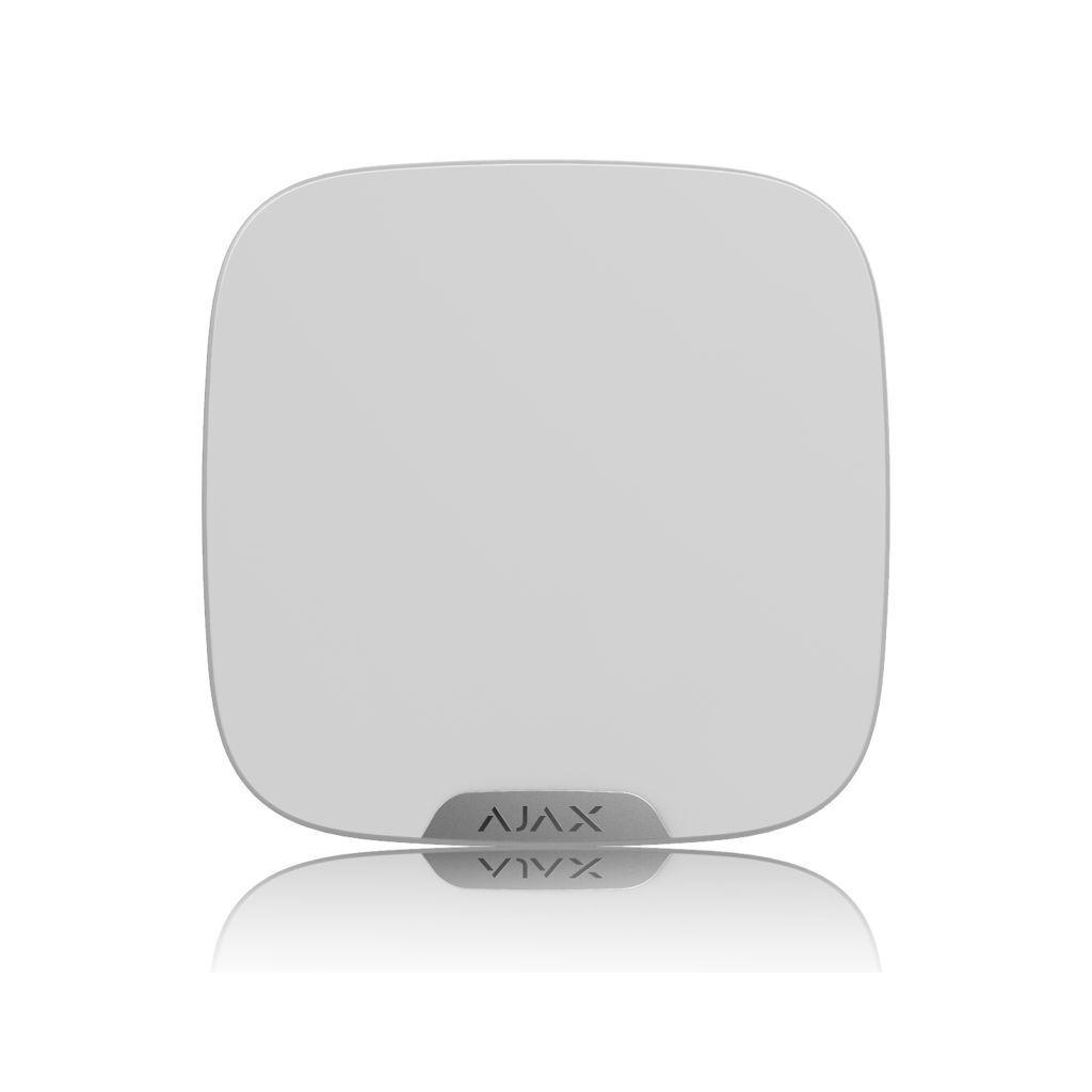 Ajax StreetSiren DoubleDeck White + Ajax Brandplate White