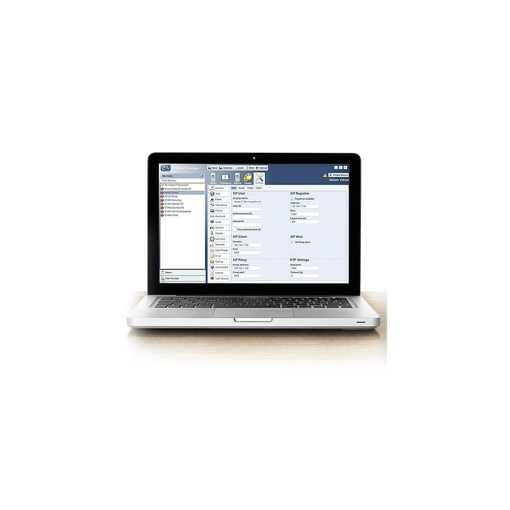 2N Helios IP - Licencia Bezpečnosť