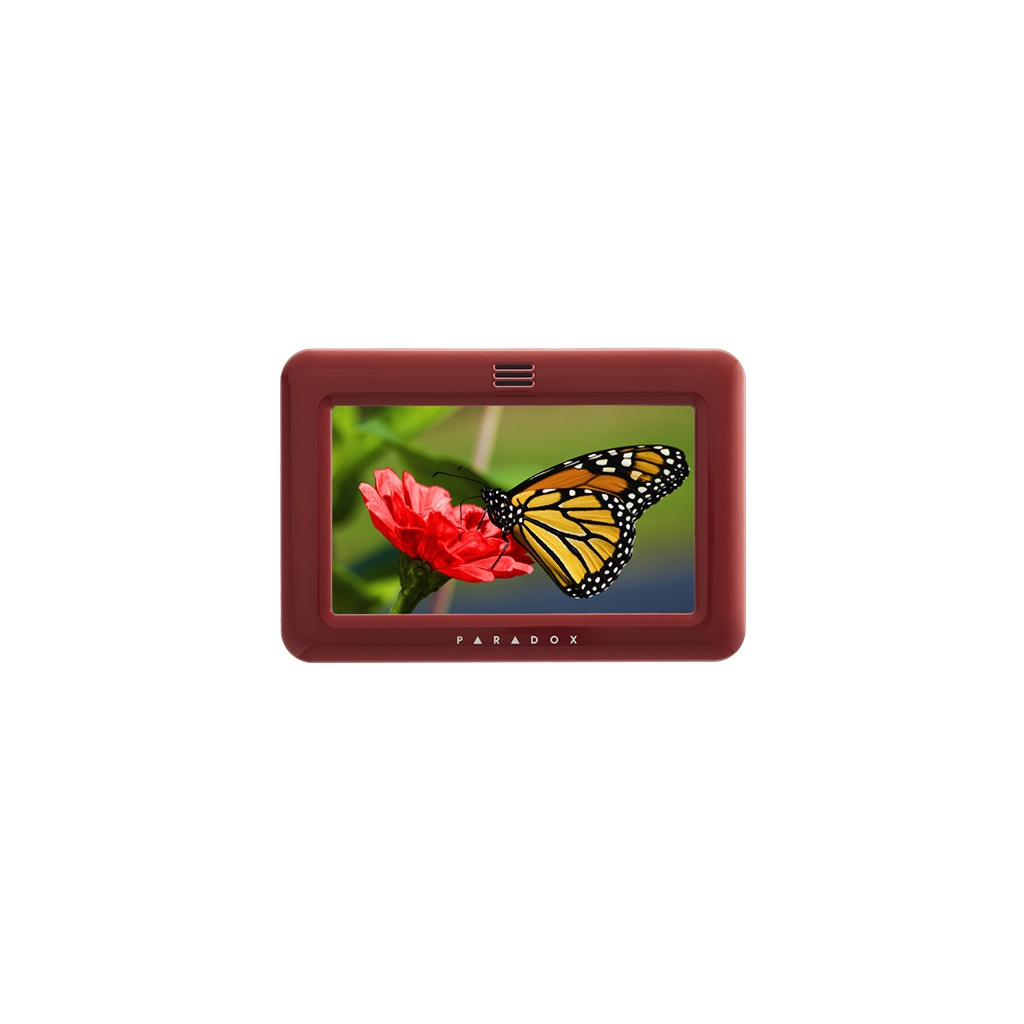 Paradox TM50 - Farebný Kryt - Červený