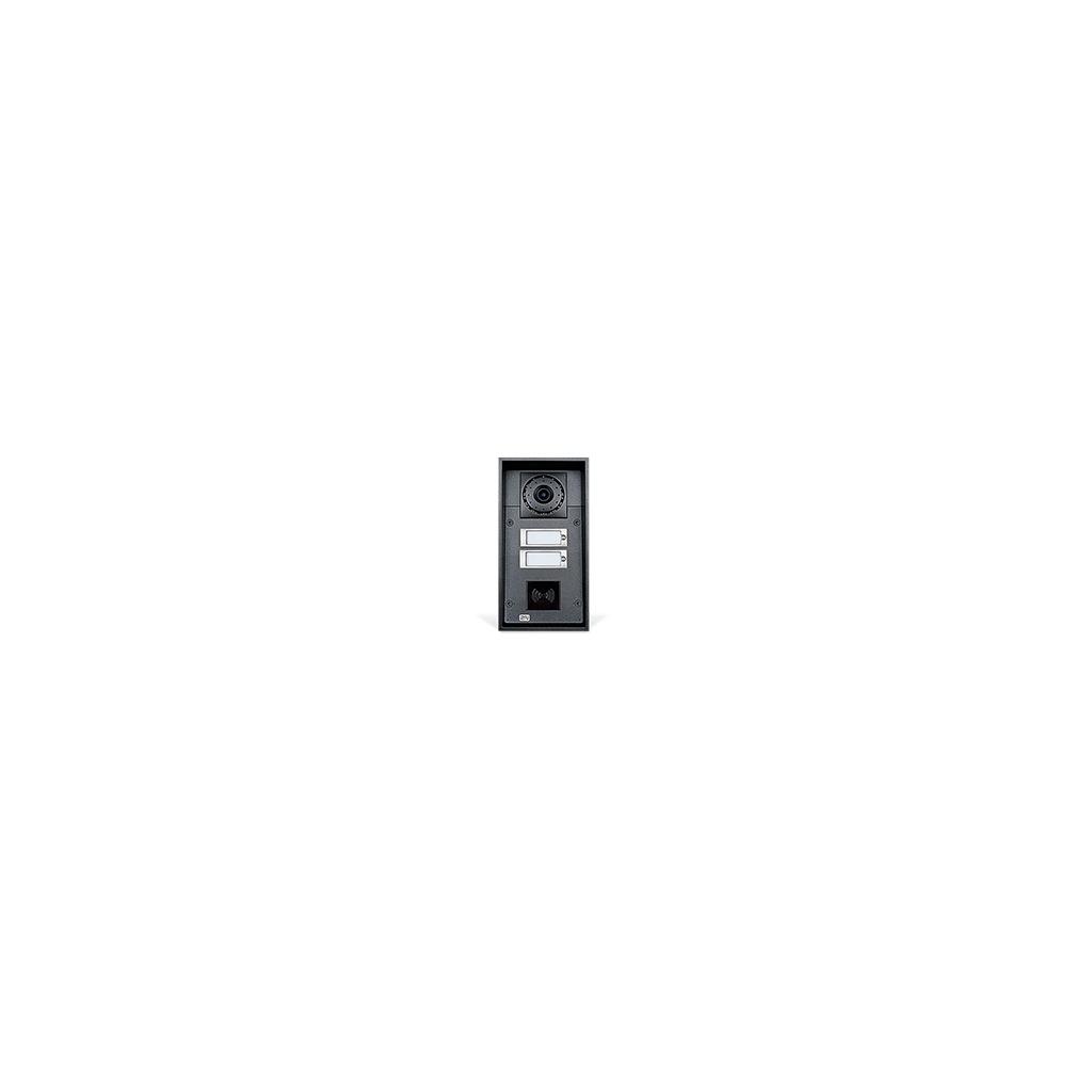 2N IP Force _ 2x Tlačítko + Kamera + 10W reproduktor + príprava na čítačku