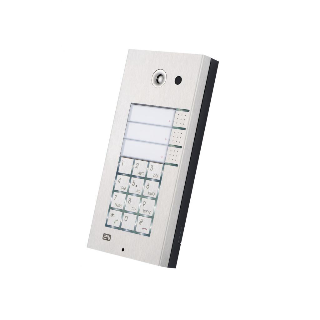 2N Helios_ Základný modul, 3x1 tlačítko + klávesnica