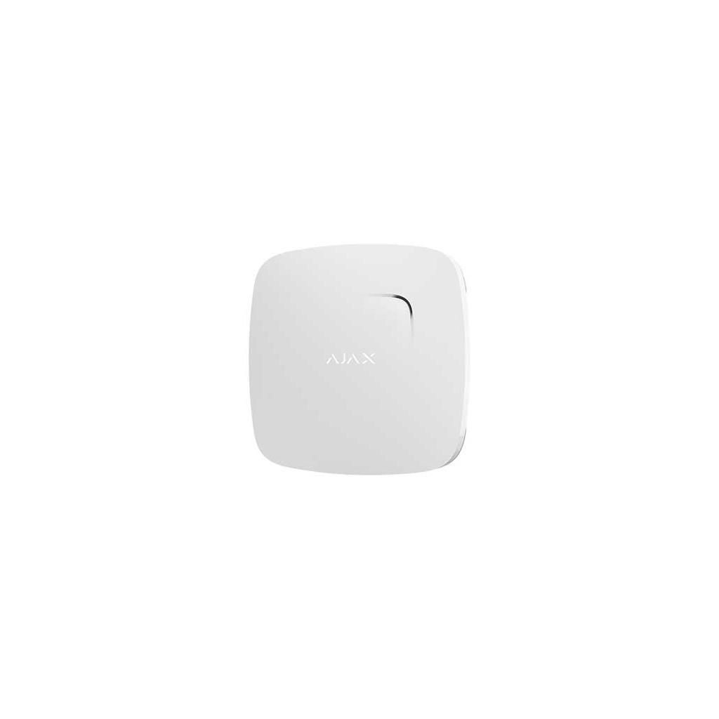 Ajax FireProtect Plus - Bezdrátový hlásič požiaru a CO - Biely
