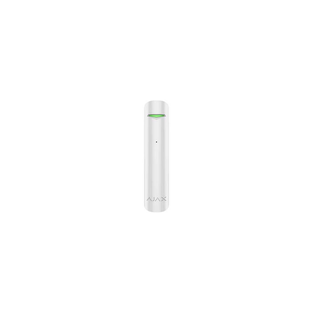 Ajax GlassProtect - Bezdrátový detektor rozbitia skla - Biely