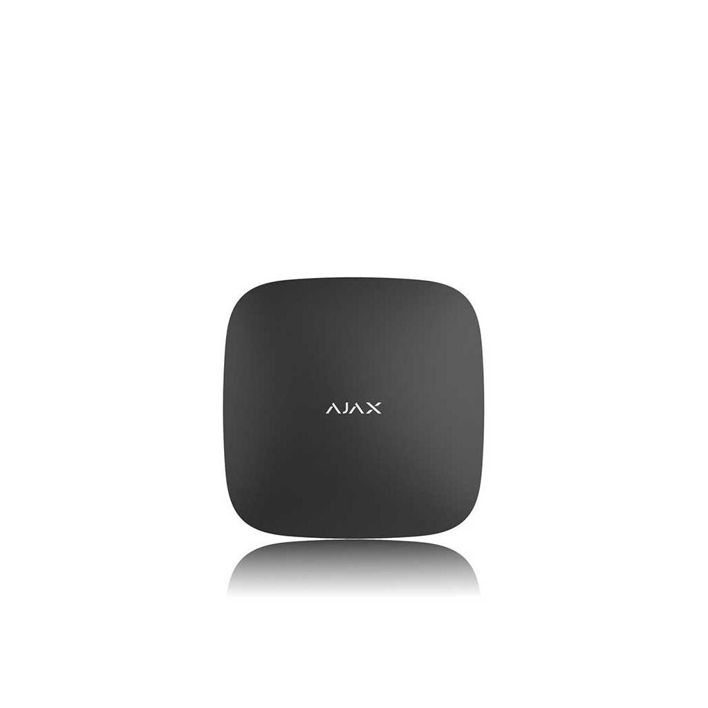 Ajax Hub Plus - Ústredňa bezdrátového GSM/IP alarmu - Čierna