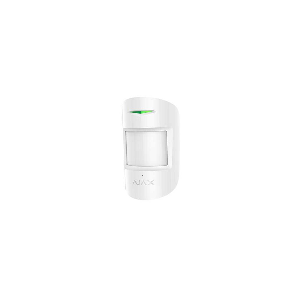 Ajax CombiProtect - Bezdrátový PIR detektor - Biely