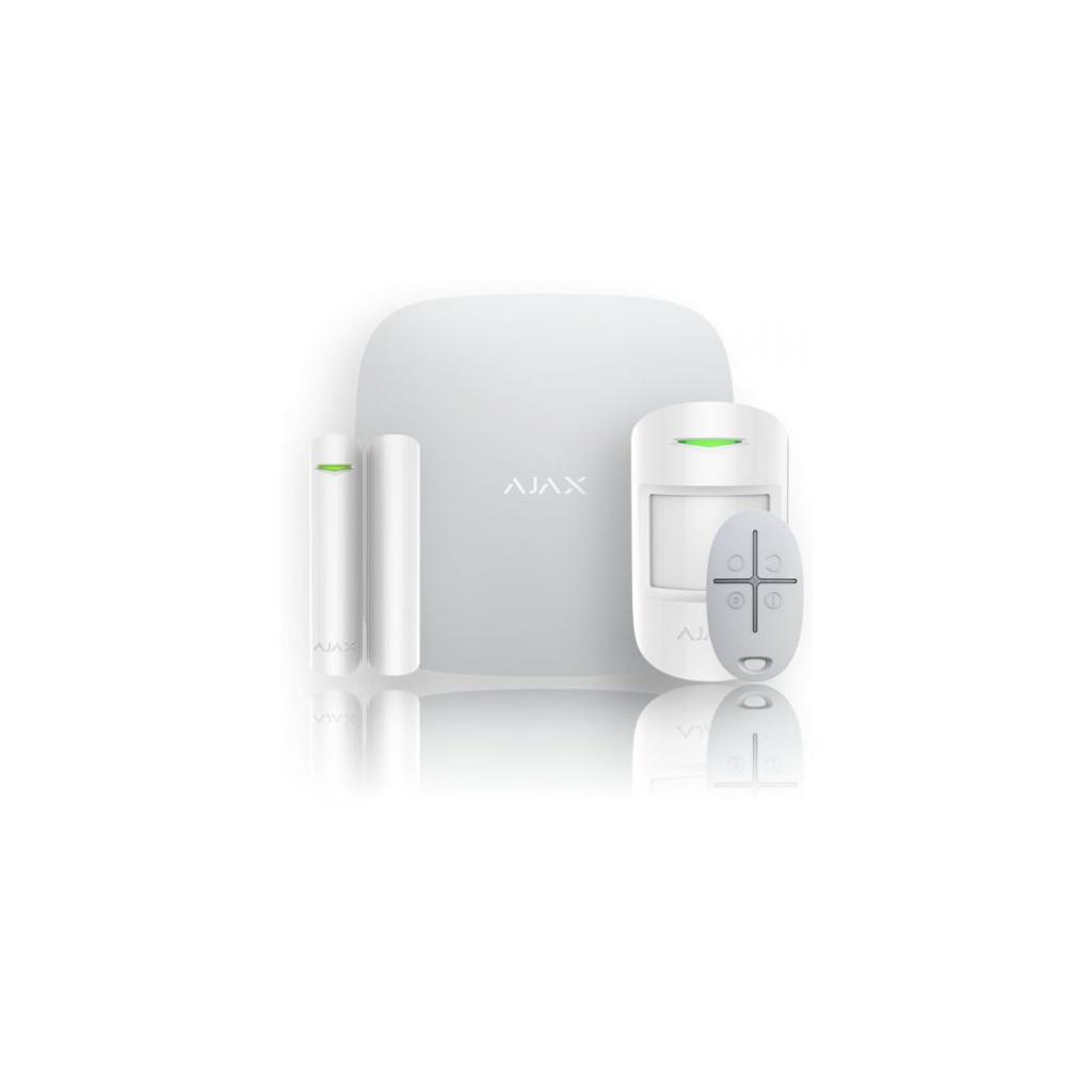 Ajax Hub Kit - Set Ústredňa bezdrátového GSM/IP alarmu - Biela